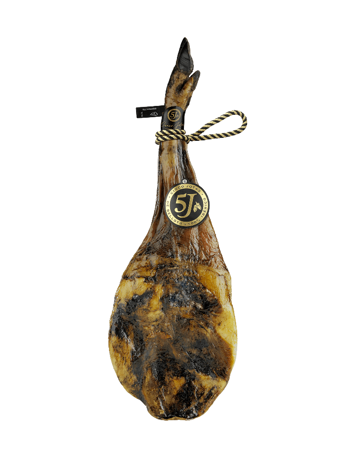 Cinco Jotas Acorn-fed 100% Ibérico Shoulder Ham 4.5 - 5 kg