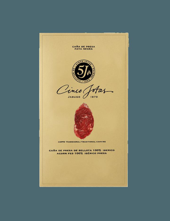 Cinco Jotas Acorn-fed 100% Ibérico Presa 80 g