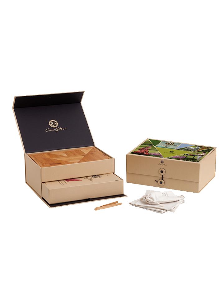 Cinco Jotas Tangram Box - The Garden of Eden