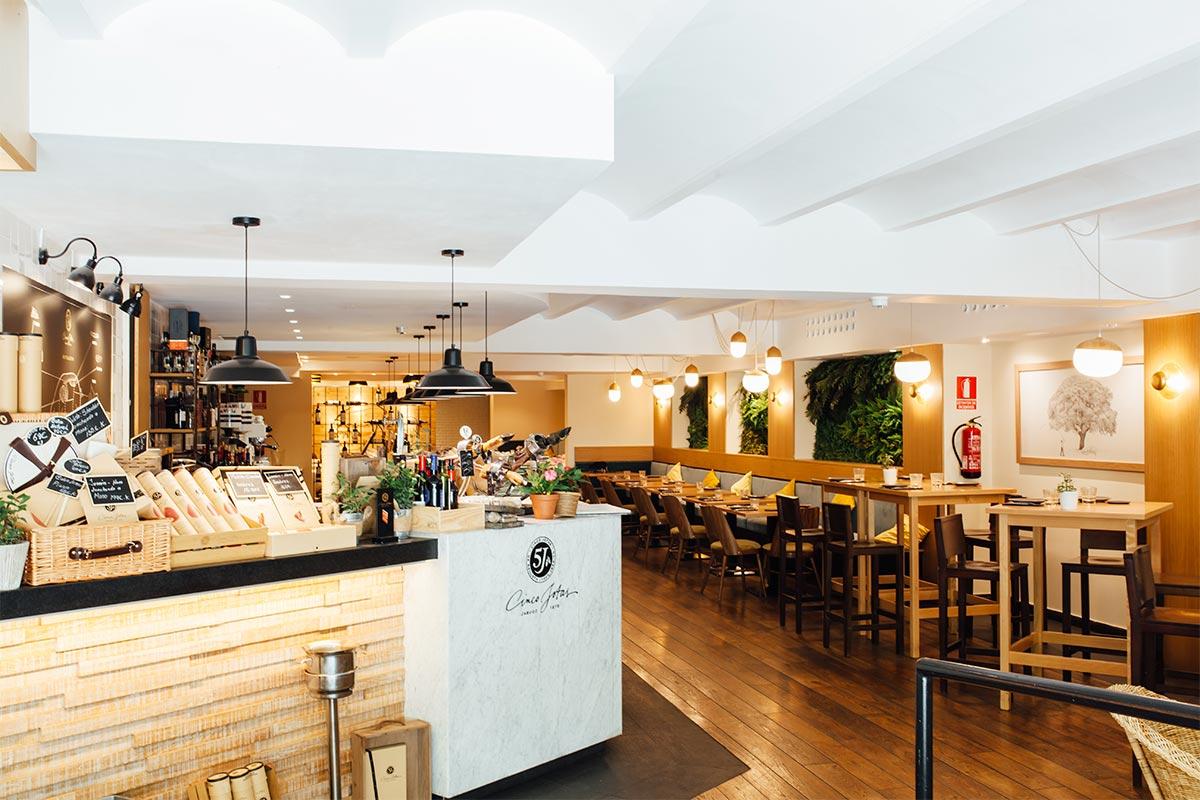 Restaurante CincoJotas Barcelona