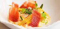 El chef francés Alexandre Mazzia firma el primer menú de autor para Cinco Jotas