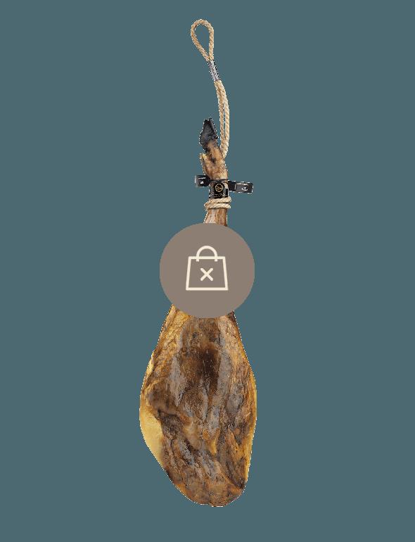 Jamón de Bellota 100% Ibérico Cinco Jotas de 7-8kg