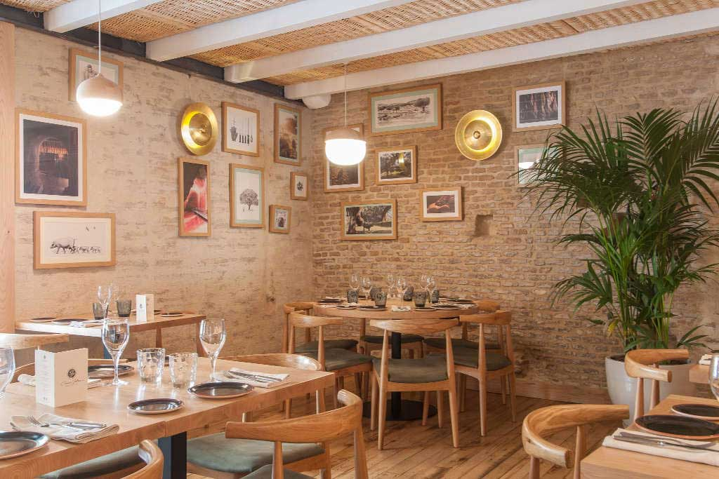 Restaurante Cinco Jotas en Sevilla