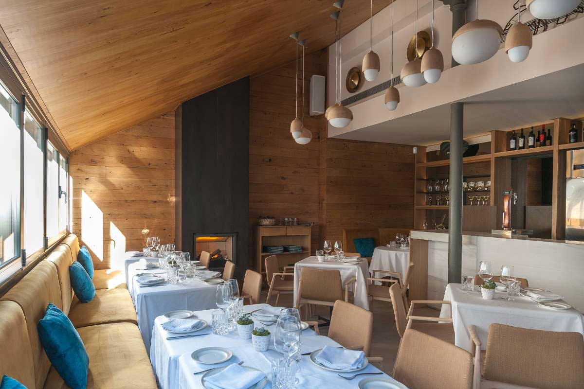 Interior Restaurante Cinco Jotas Jorge Juan