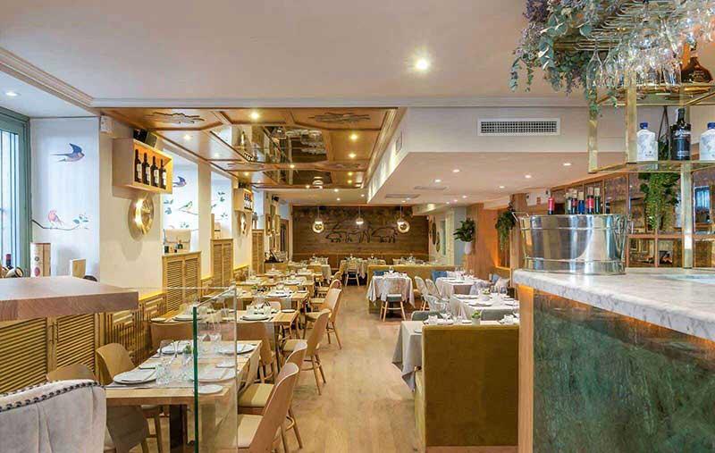 Restaurante Serrano Cinco Jotas Salón