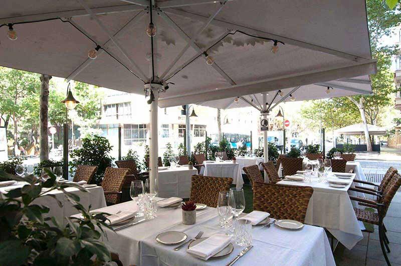 Restaurante Serrano Cinco Jotas Terraza
