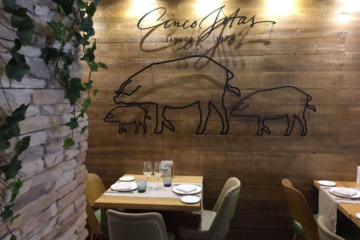Restaurante CincoJotas Madrid