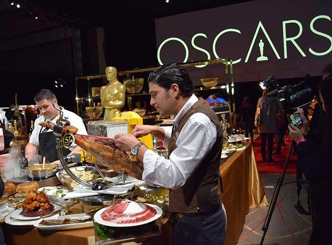 Cinco Jotas menú Gala Oscar