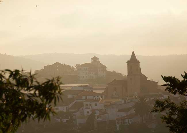 Pueblo de Jabugo Cinco Jotas